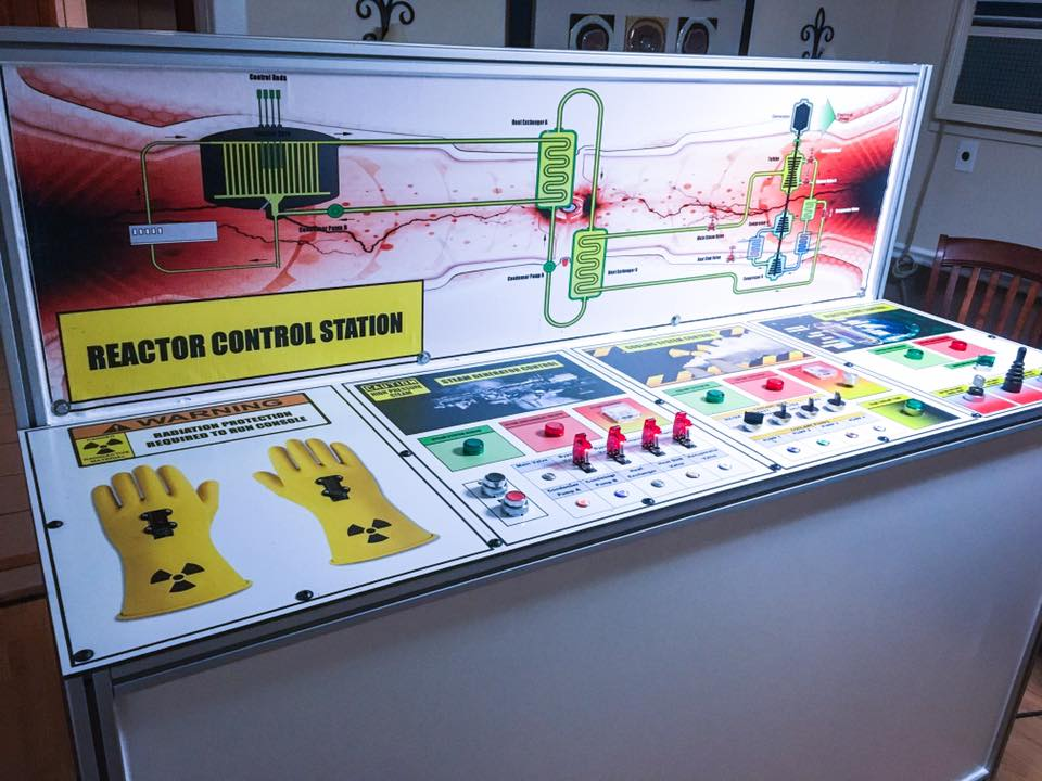 Nuclear Control Panel