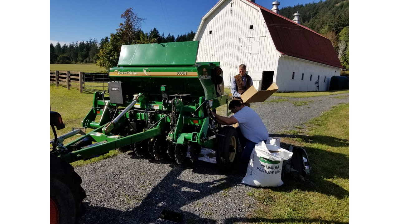 Loading seed for calibration