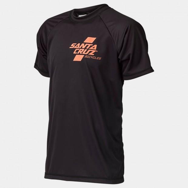 Short Sleeve Santa Cruz Tech T's. Orange/black. Sizes: S/M/L.$65 + $6 Courier.