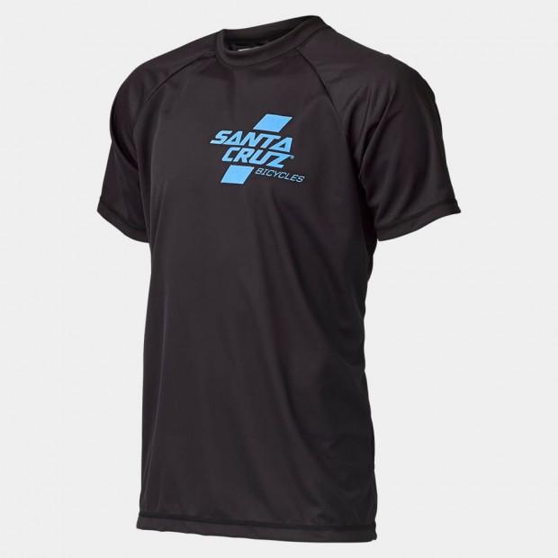 Short Sleeve Santa Cruz Tech T's.Blue/black. Sizes:M/L.$65 + $6 Courier.