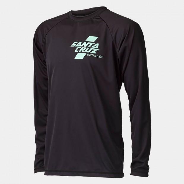 Long Sleeve Santa Cruz Tech T's. Mint (as bro)/black. Sizes: S/M/L.$70 + $6 Courier.