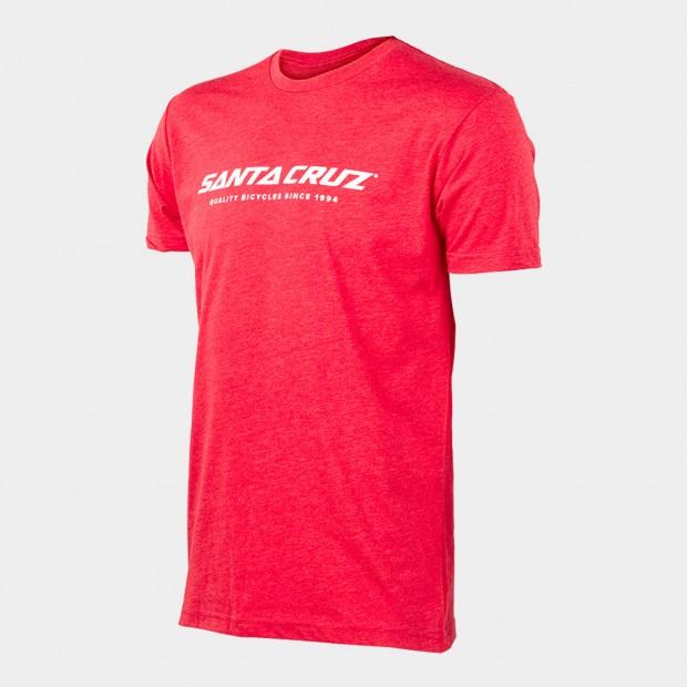 Santa Cruz Warden T-Shirt Red. Sizes: XL.$49  + $6 Courier.