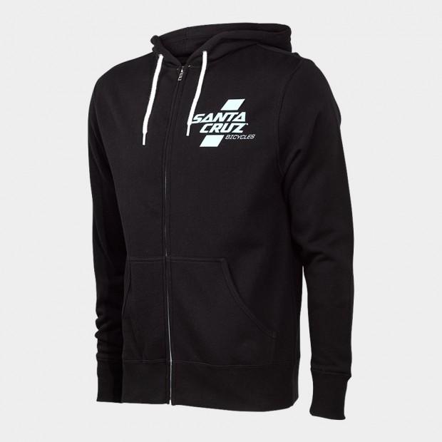 Santa Cruz Hoodie Zip Black/Mint. Sizes: S/L.$100 + $6 Courier.