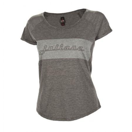 Juliana T-shirt. Grey  . Sizes S/M $49 + $6 Courier