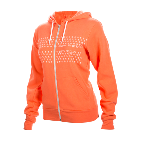 Juliana Hoodie, coral. Sizes: S/M. $100 + $6 Courier