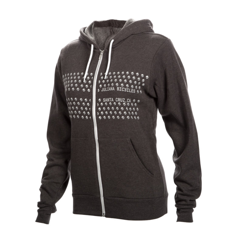 Juliana Hoodie, grey. Sizes: S/M. $100 + $6 Courier