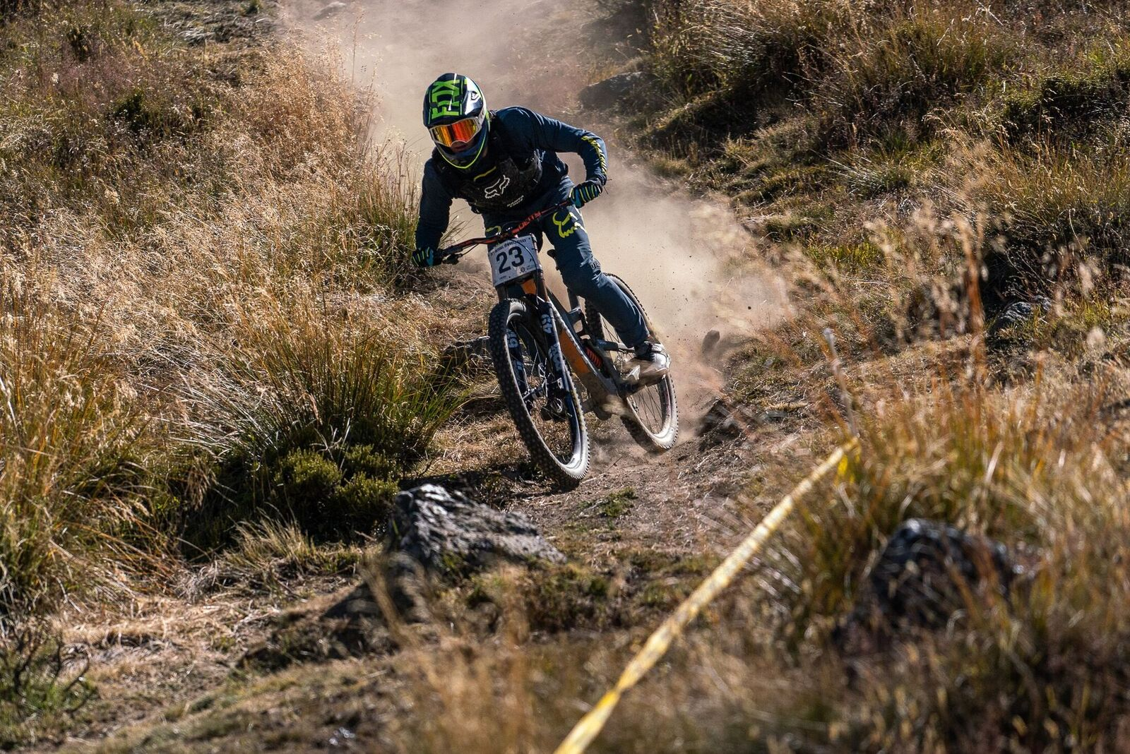 Finn pushing his limits here at Cardrona and all summer long PC Jason Beacham