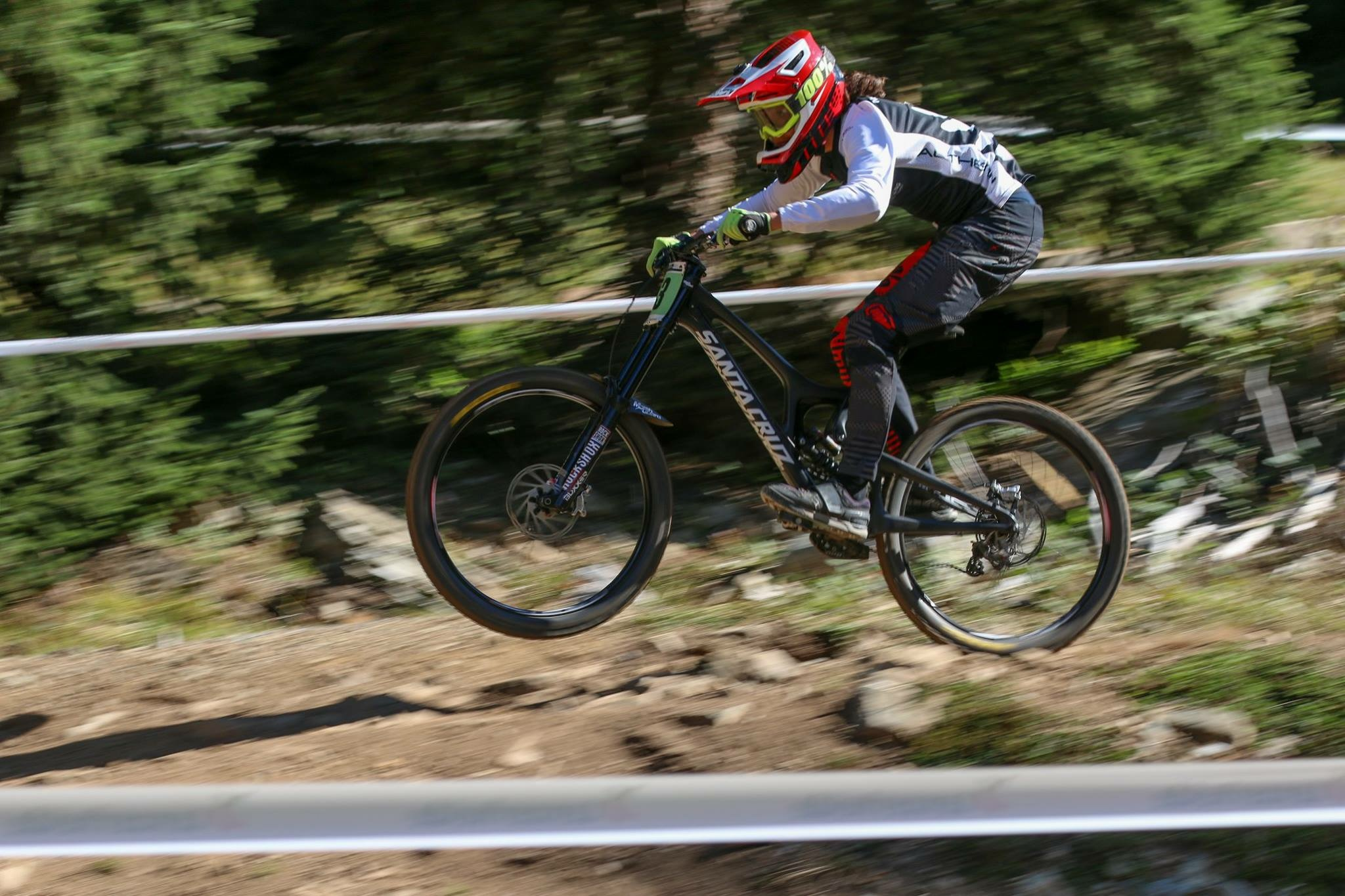 Tuhoto is so chill he wont be phased by the perceived seriousness of the world stage. Here he is charging to a 7th place finish in his first World Championship's race as a junior (Lenzerheide, Switzerland, 2018).