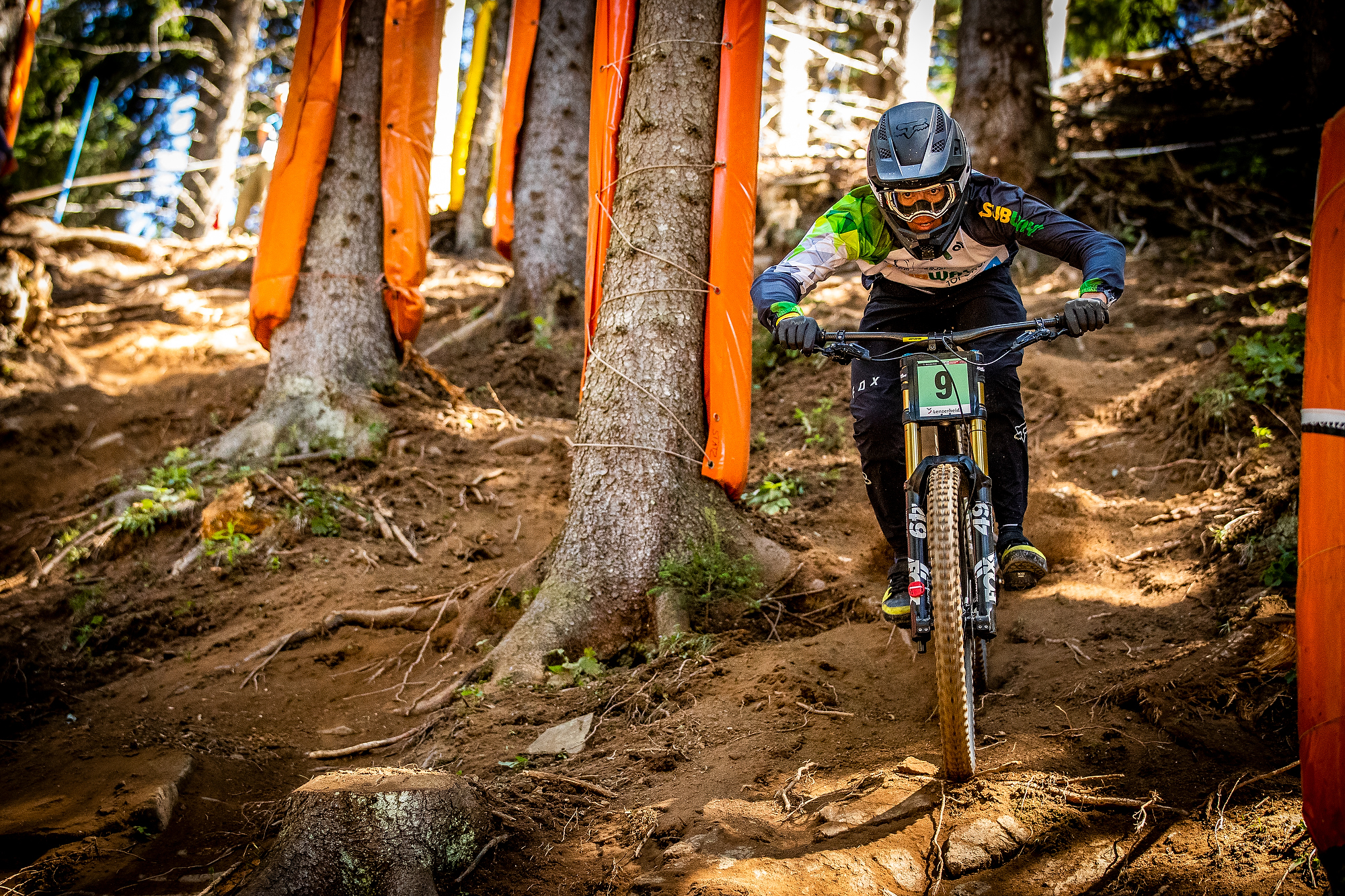 Tuhoto backed up his win in Val di Sole with a 3rd place at the Lenzerheide World Cup a week later. PC Sven Martin