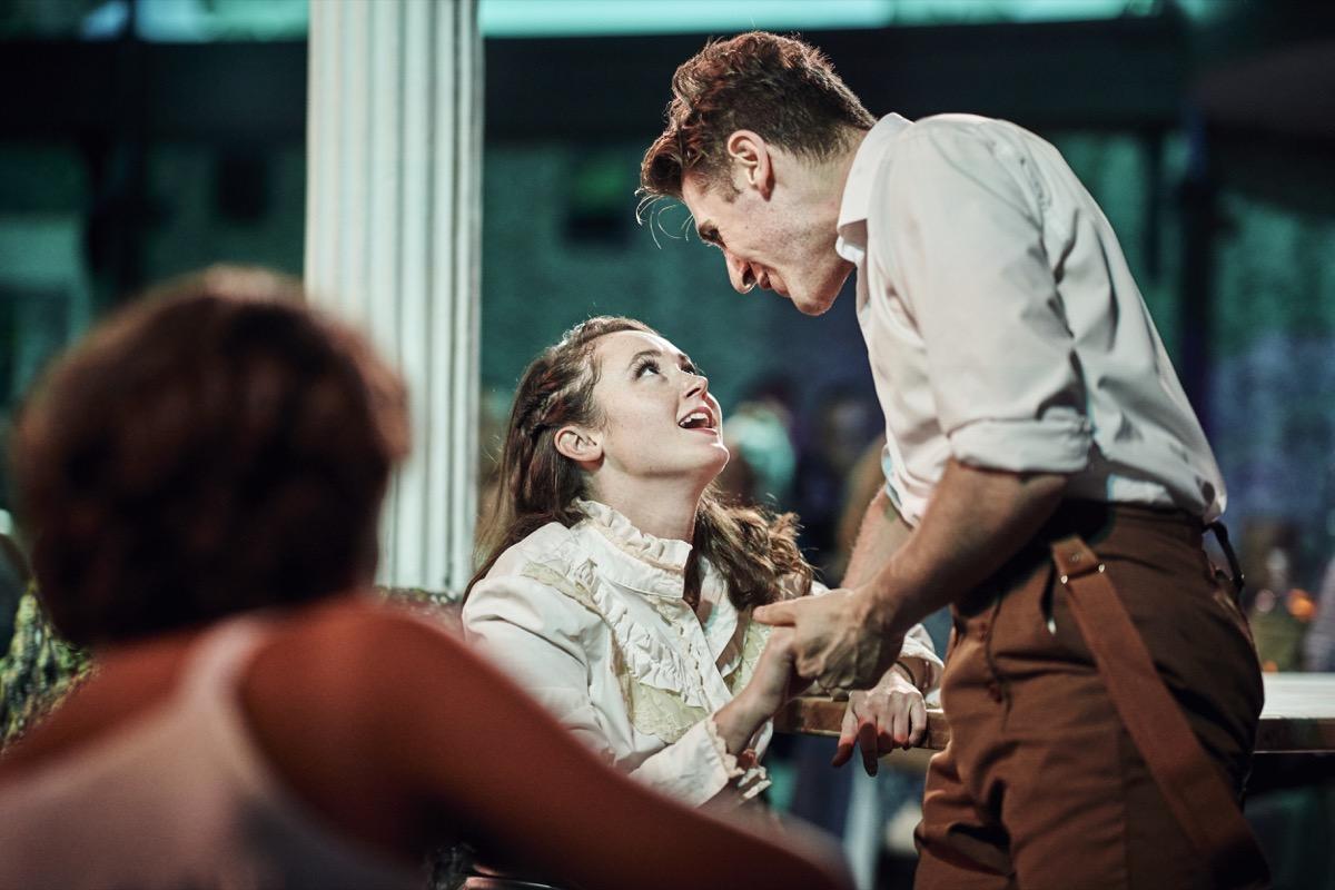 Alex J. Gould and Caroline Amos in MIDSUMMER A BANQUET, Photo by Chad Batka.jpg