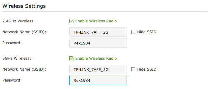 adding strong passwords to your wireless network is essential