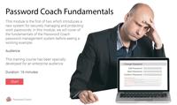 Click to review Password Coach Fundamentals