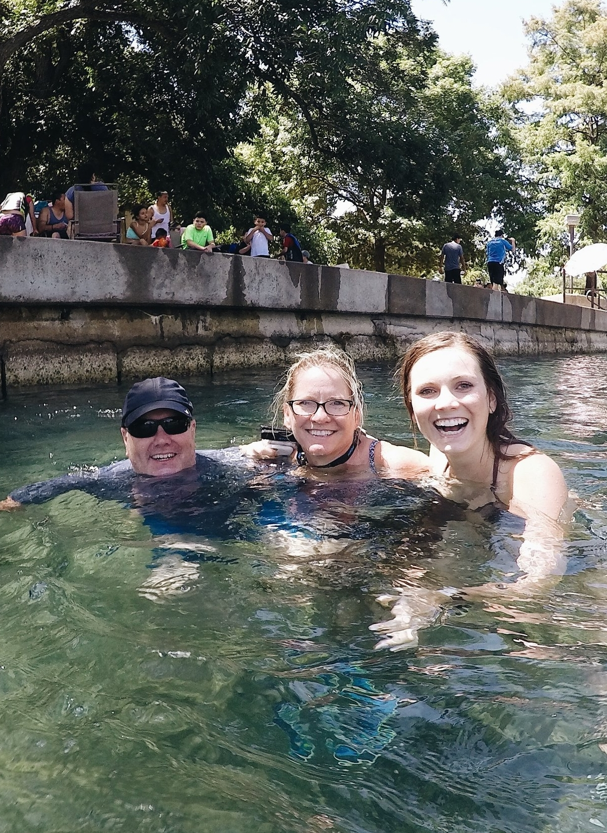 Floating the river in San Marcos.
