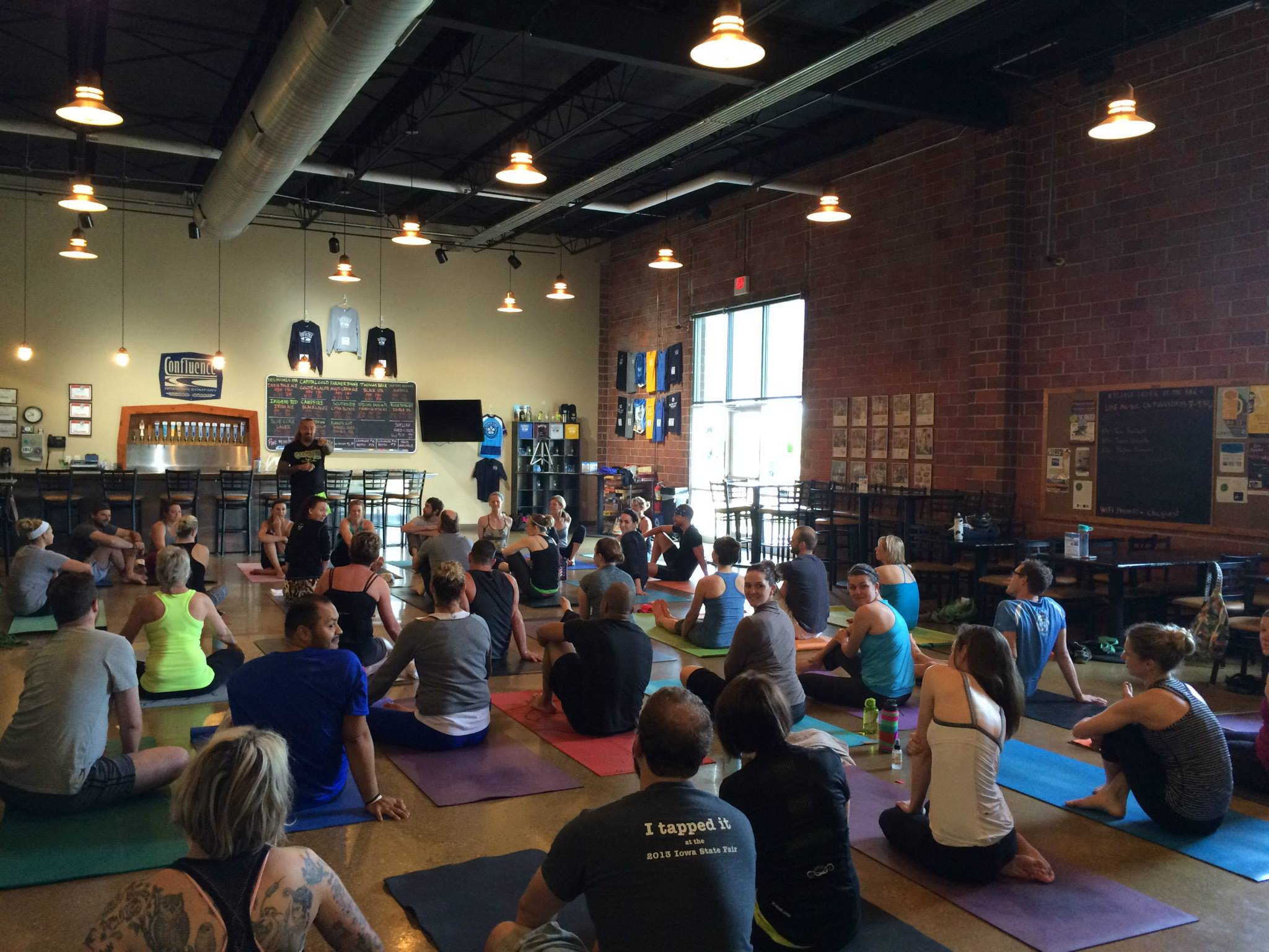 OUTLAW YOGA EVENT AT CONFLUENCE BREWERY