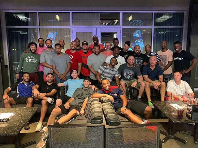 Men's Retreat This Weekend Put On By My Guy @atolliver44 It's Going To Be An Amazing Weekend Of Growth!!! Thank You #Topgolf For Being Dope Hosts!!