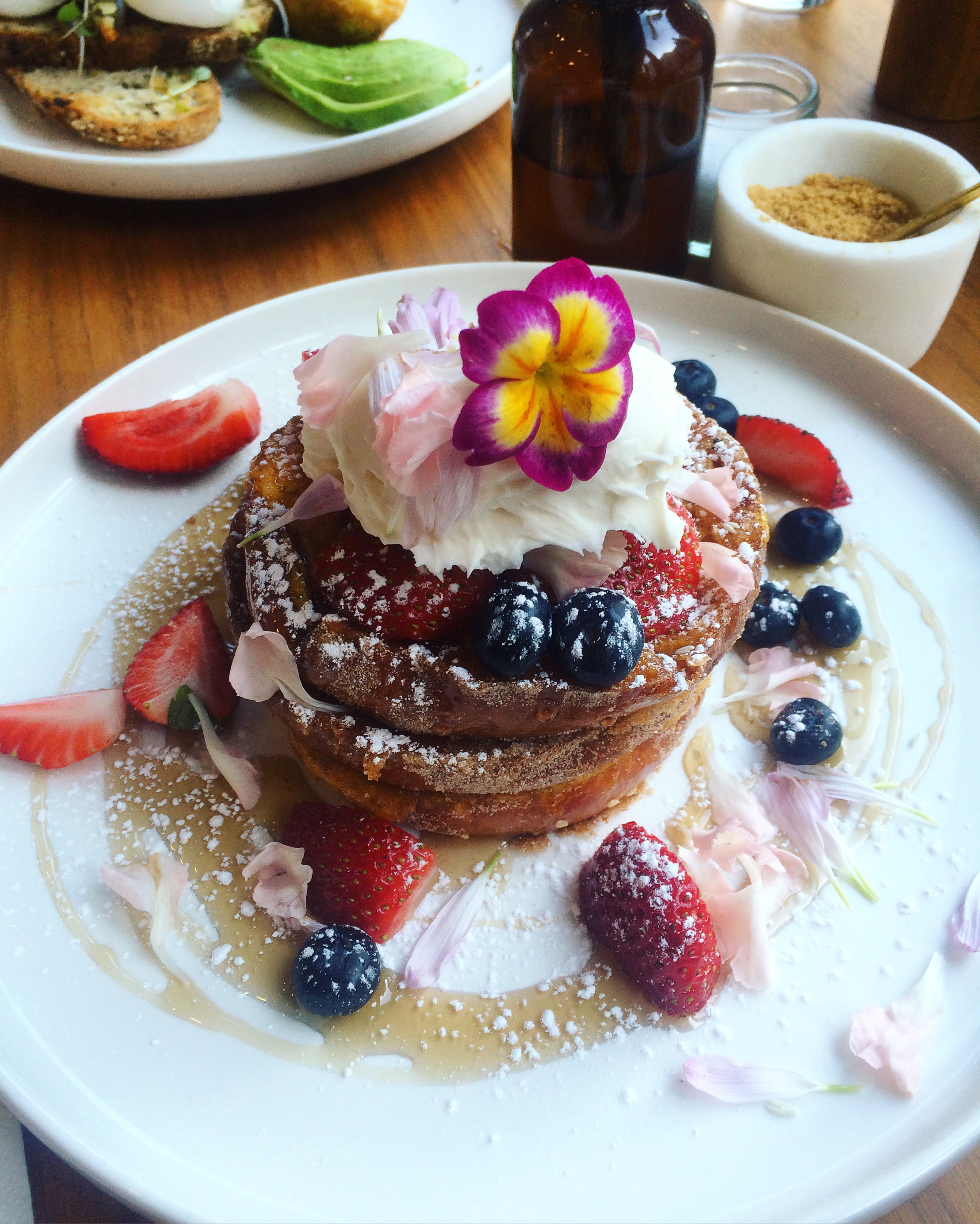 This one is the French Toast from  Darling Cafe  on Darling Street, South Yarra. It is dangerously close to my apartment!