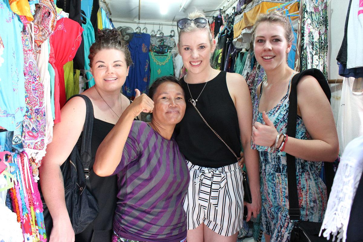 Bali for beginners bartering