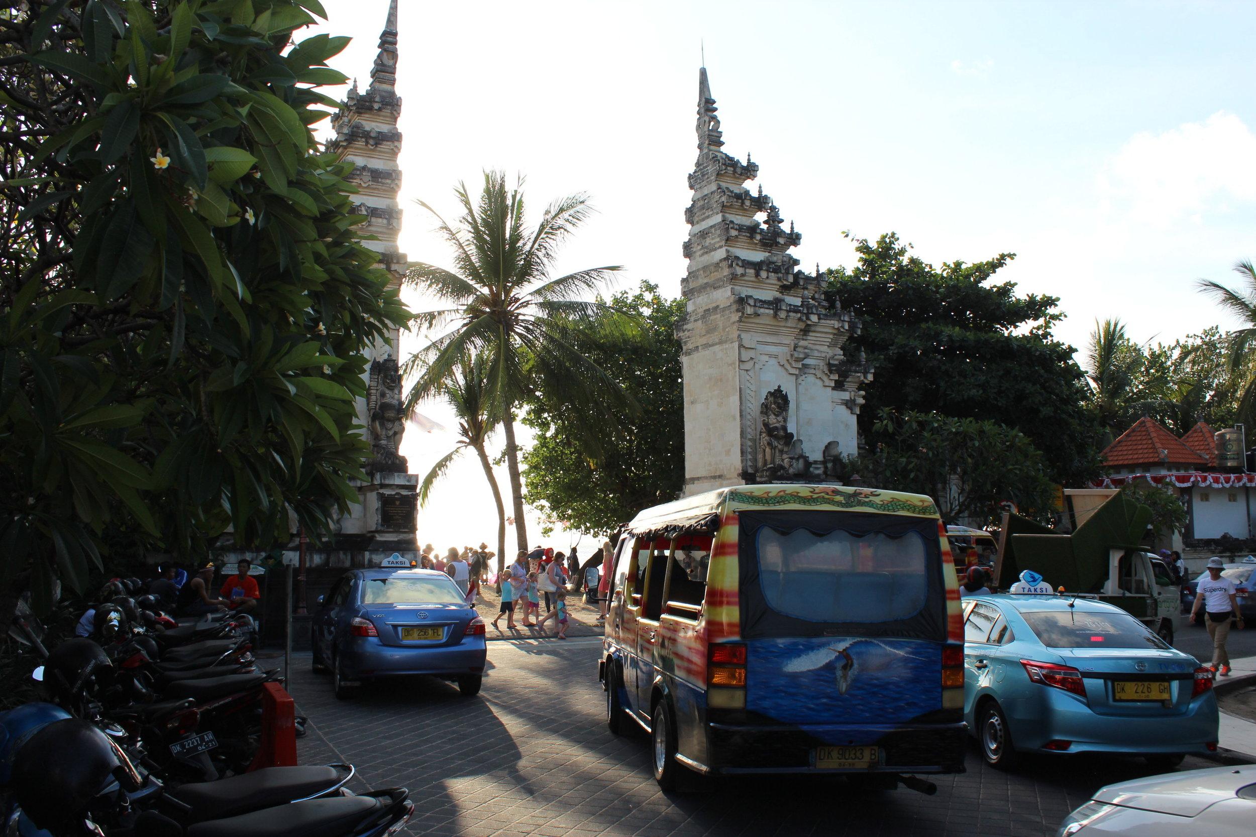 Bali for beginners - transport