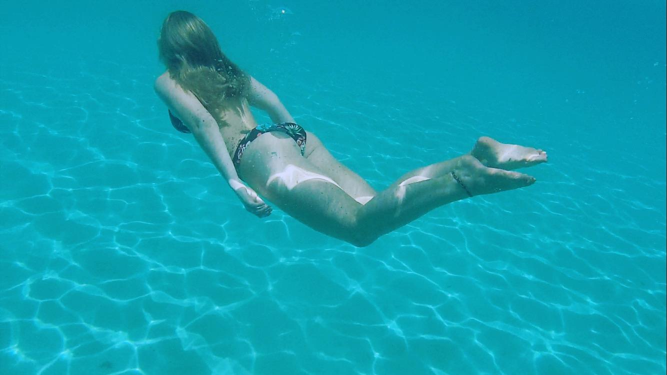 Spring Break underwater