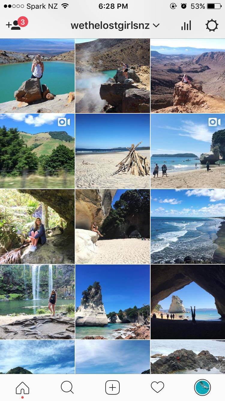 How to start a blog Instagram