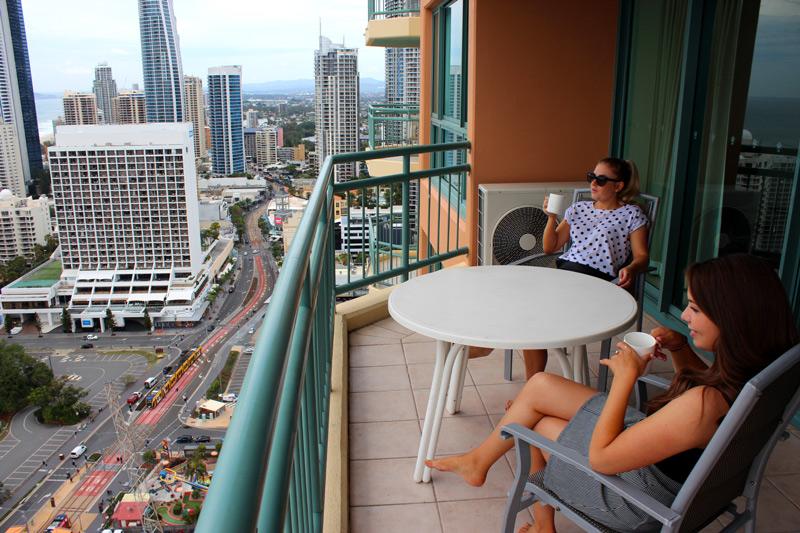 Girls Weekend Gold Coast hotel view