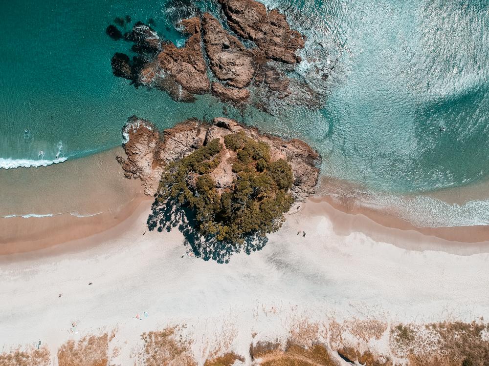 The Island of Medlands Beach, Great Barrier Island