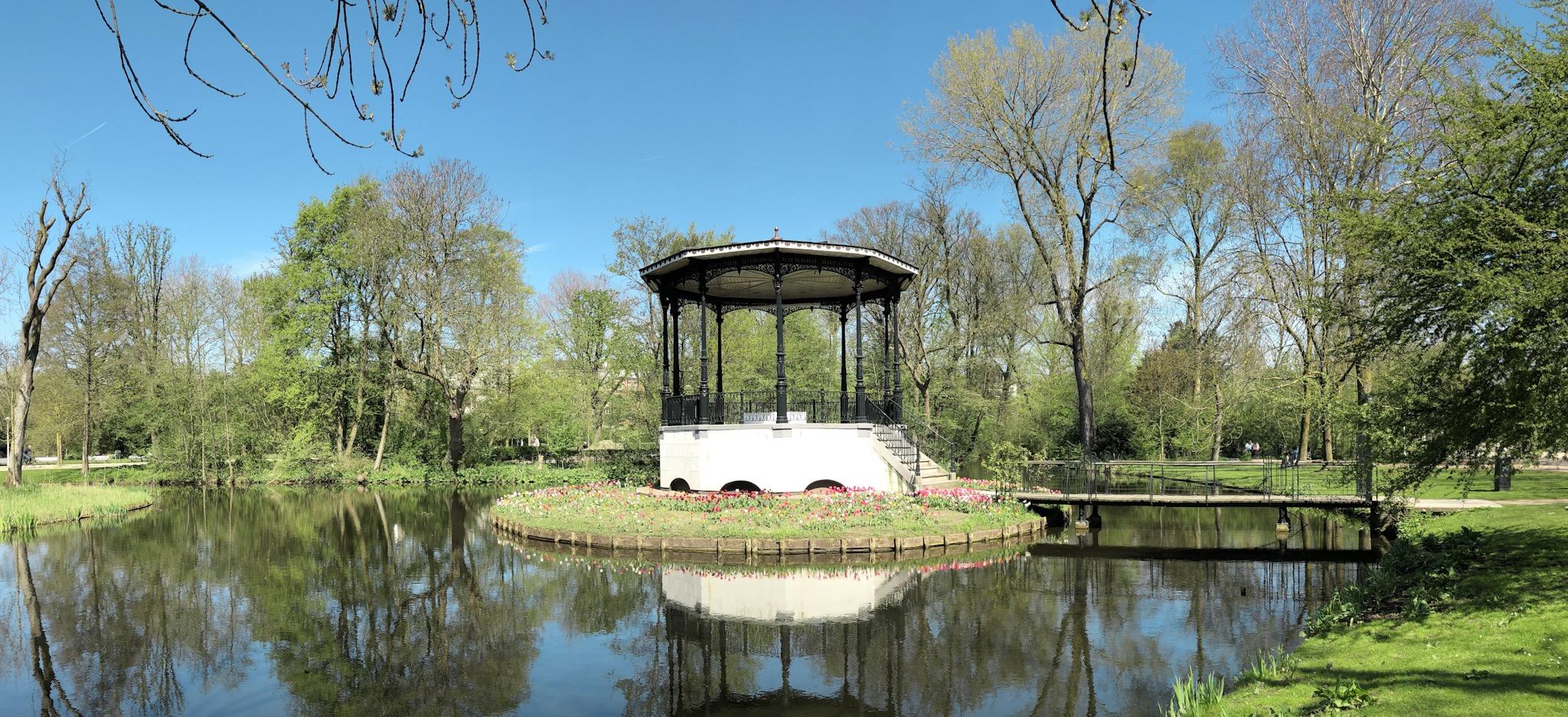 Lake at Vondelpark