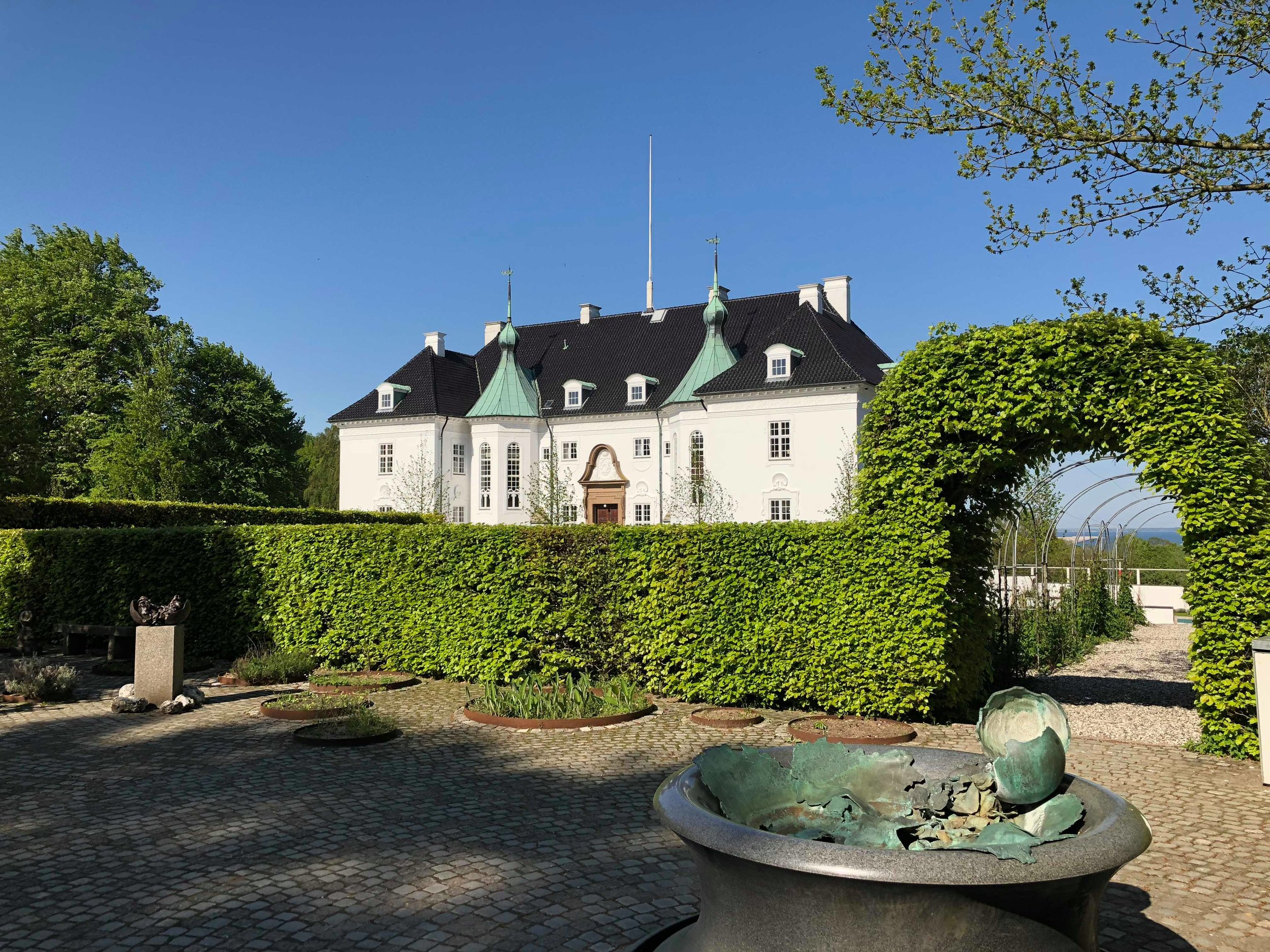 Marselisborg Palace and garden