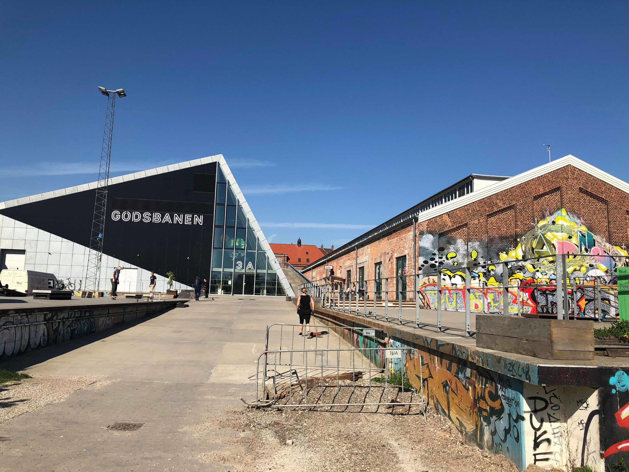 Godsbanen and the skate park