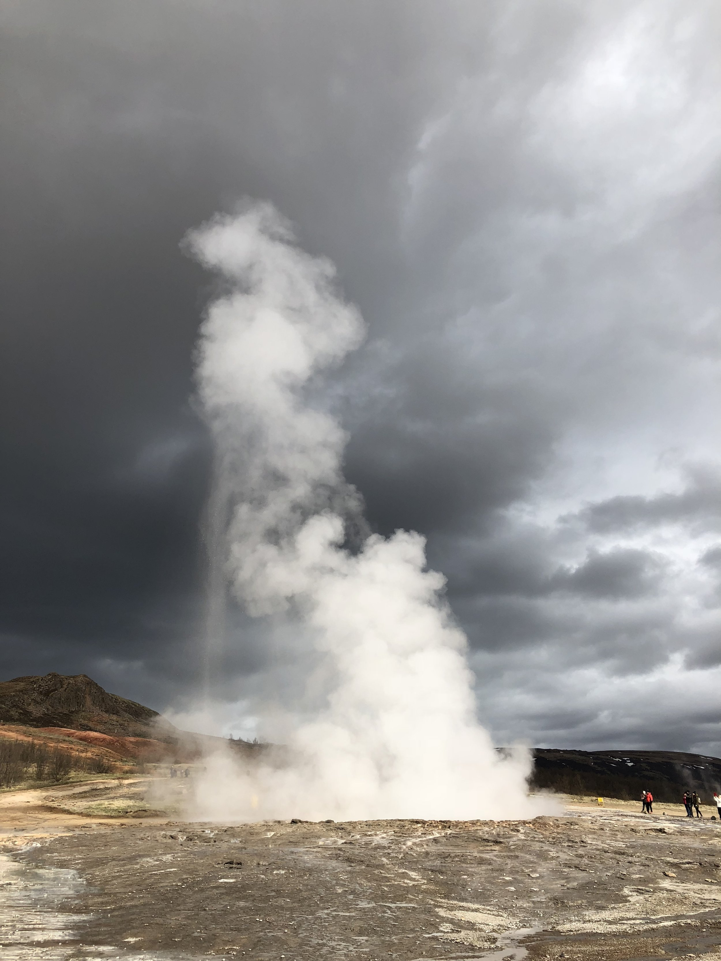 Geysir on the Golden Circle route