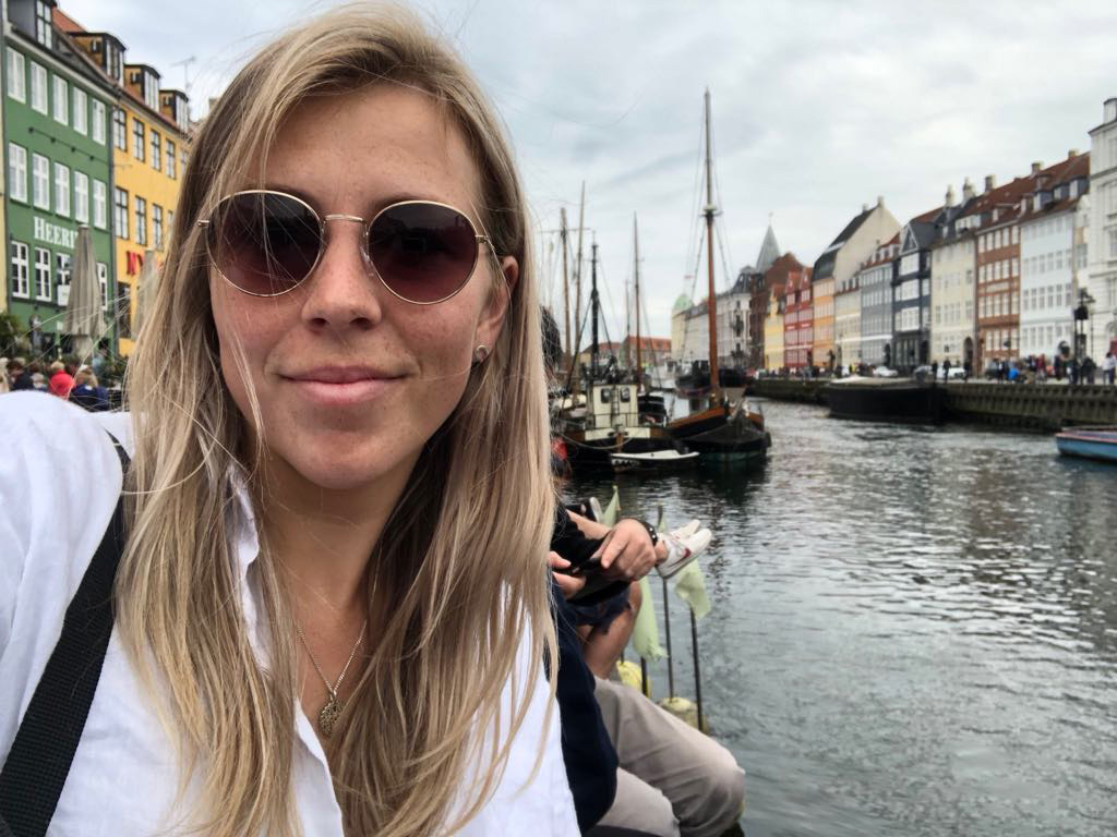 Looking cool, calm and collected at Nyhavn, but a few hours later I went back to my Airbnb and had a huge cry