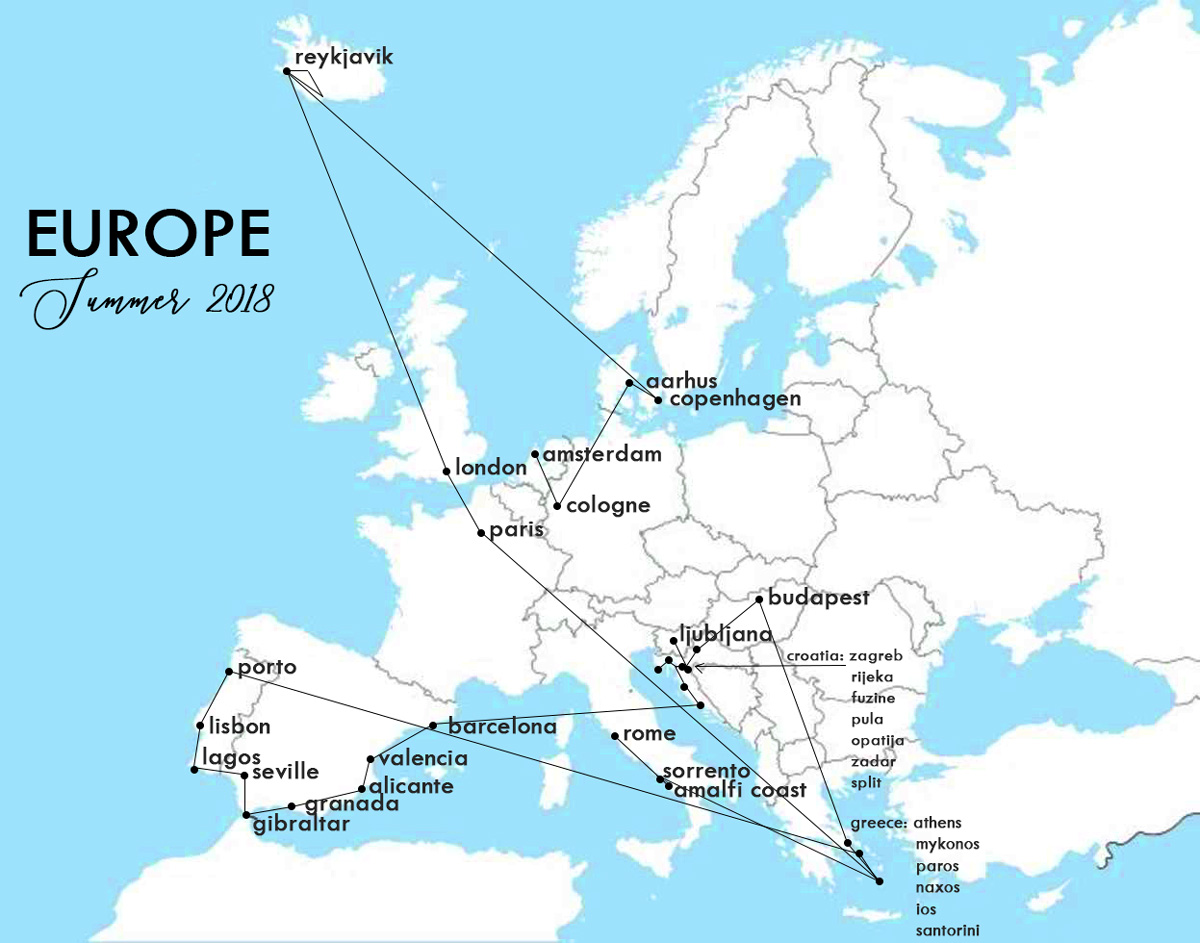 Europe The Lost Girls NZ