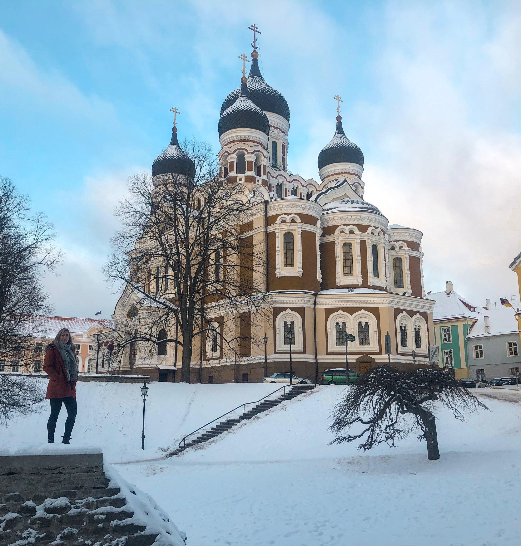 A beautiful Orthodox Church on Toompea Hill