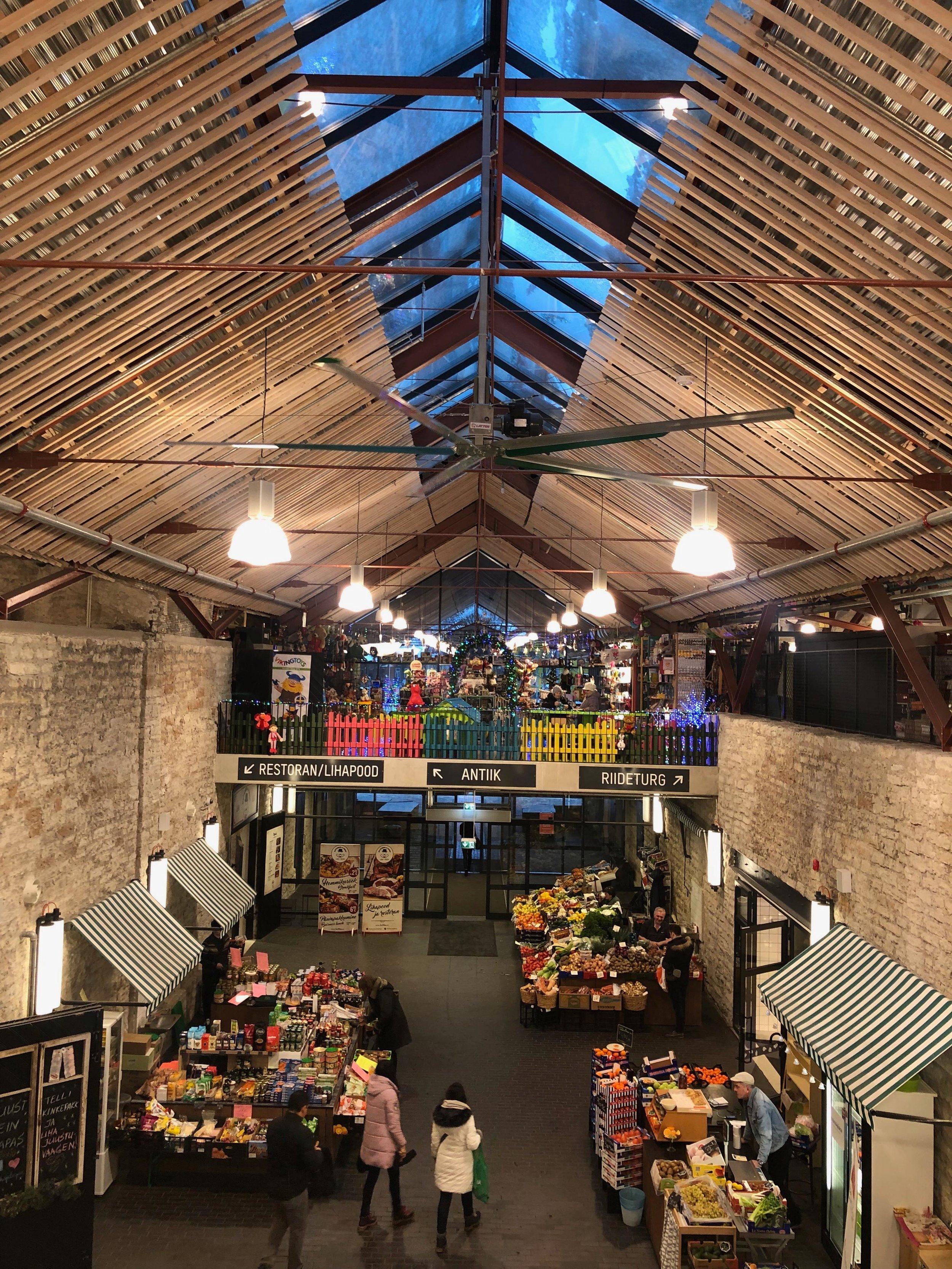 Balti Jaama Turg - markets in Tallinn
