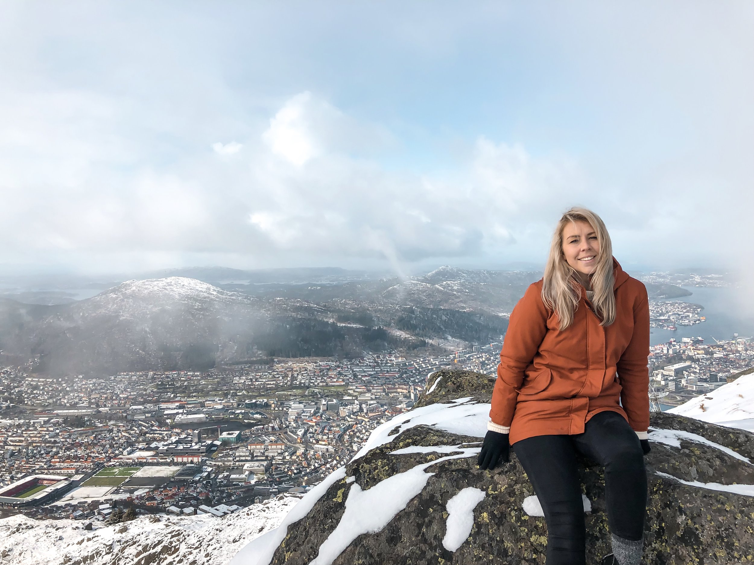 Bergen is pretty beautiful from all angles!