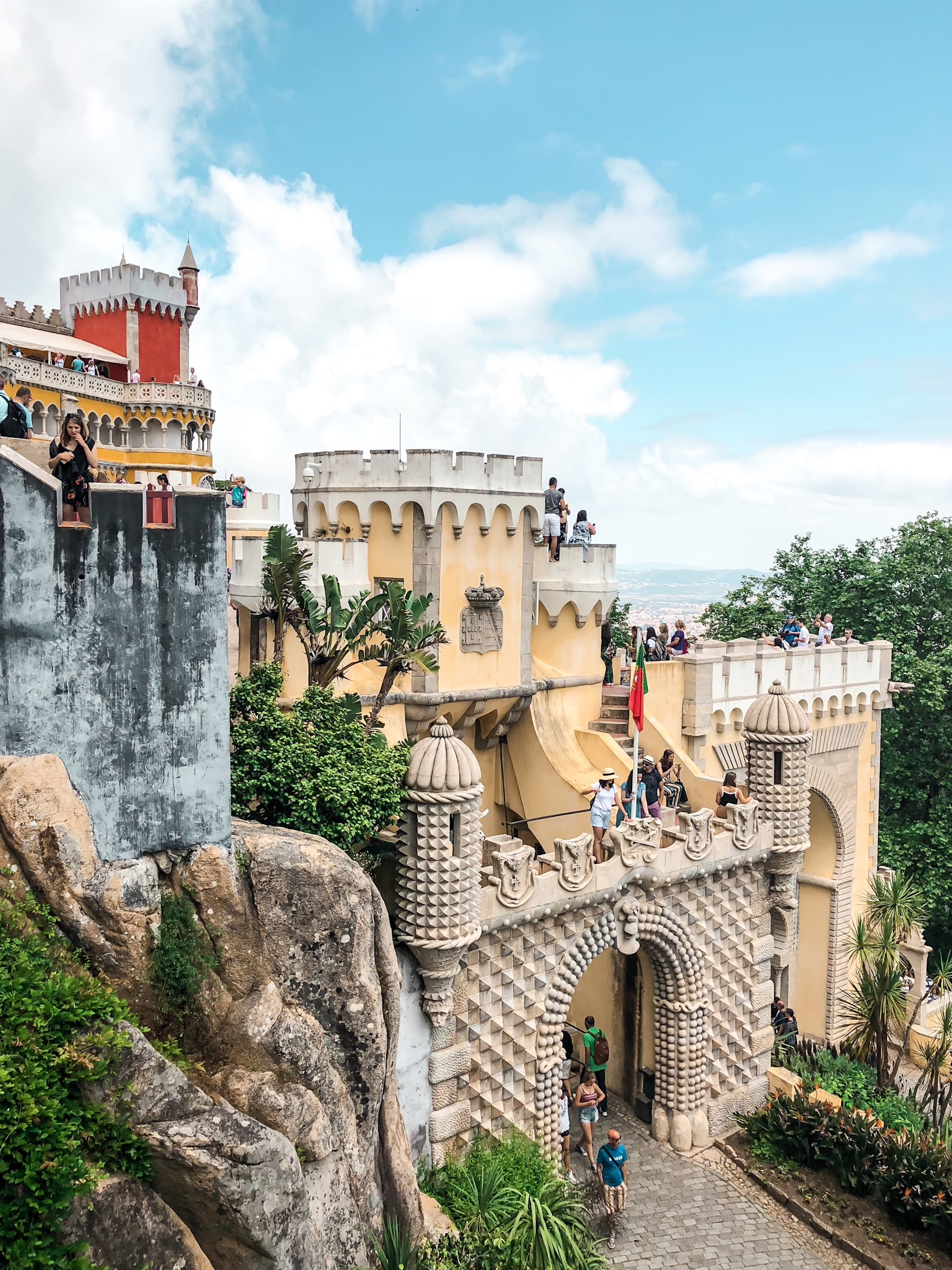 So many must-dos in Europe, like the Pena Palace in Portugal