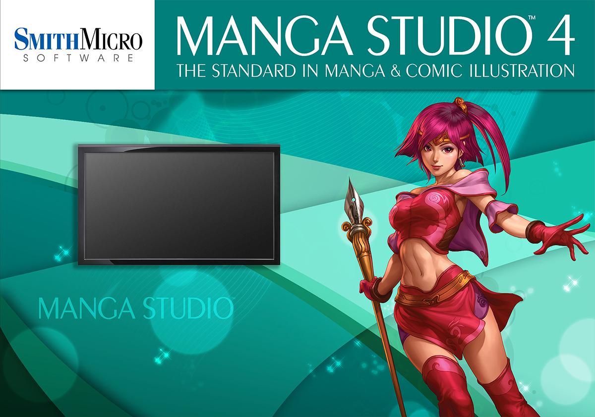 Manga Studio workstation.