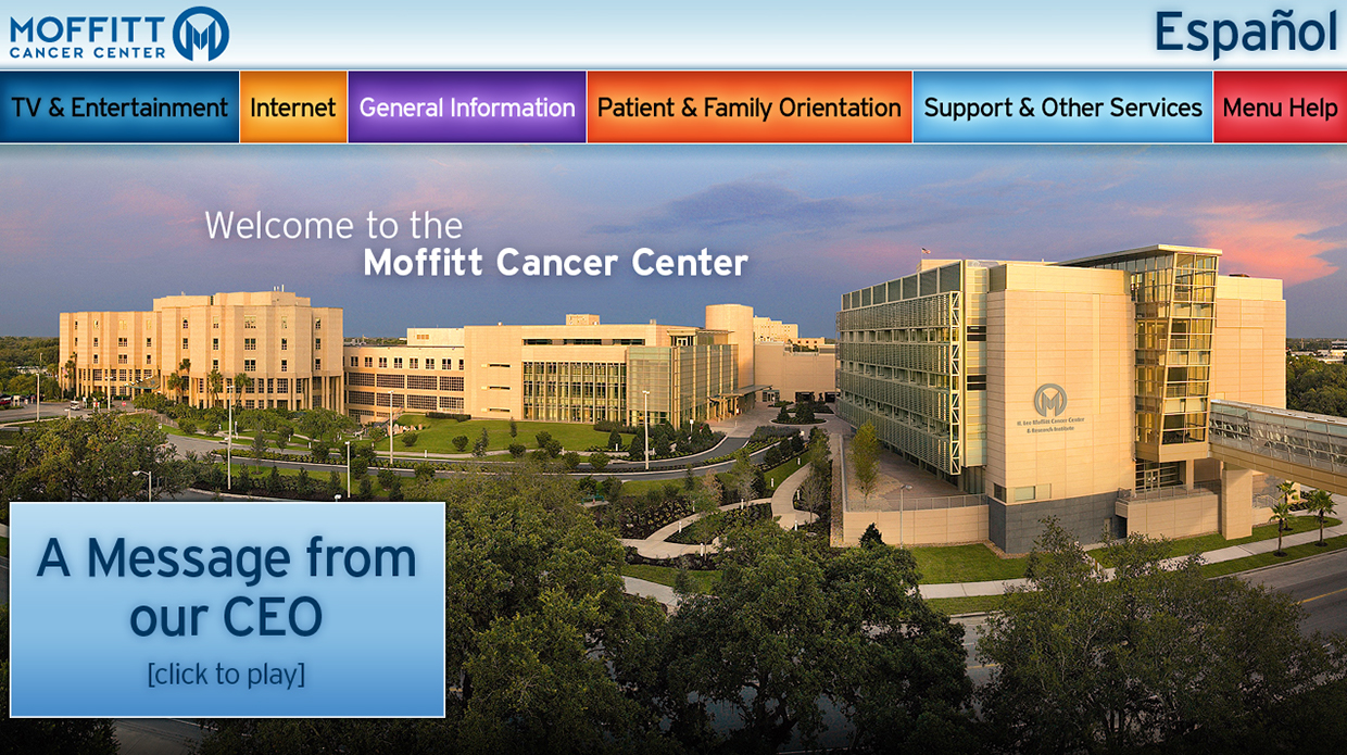 Copy of Copy of Moffitt Cancer Center