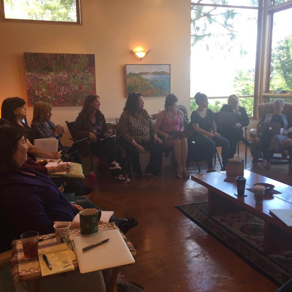 Writing workshop with   Amy Ferris  , March 2017.