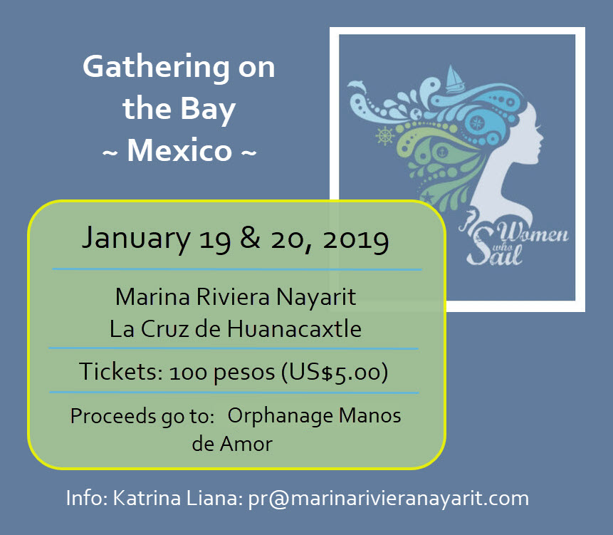 Women Who Sail - Mexico January 2019