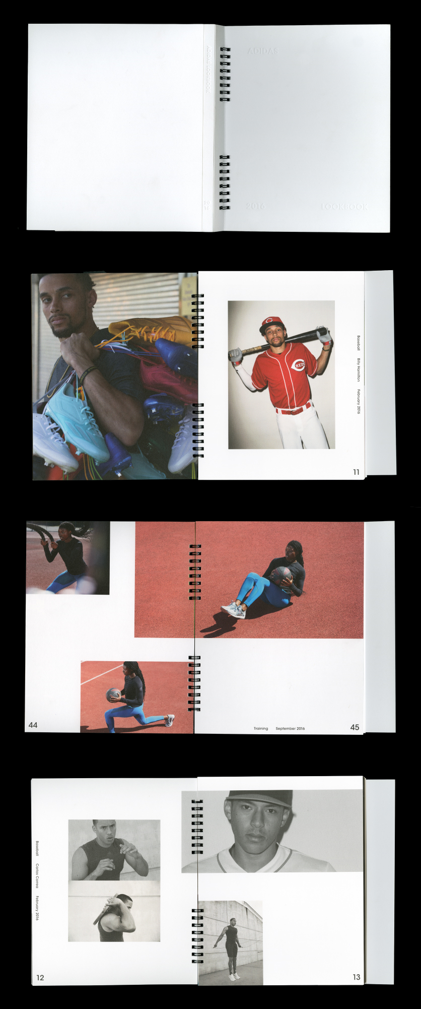 Adidas Look Book Design — 2016