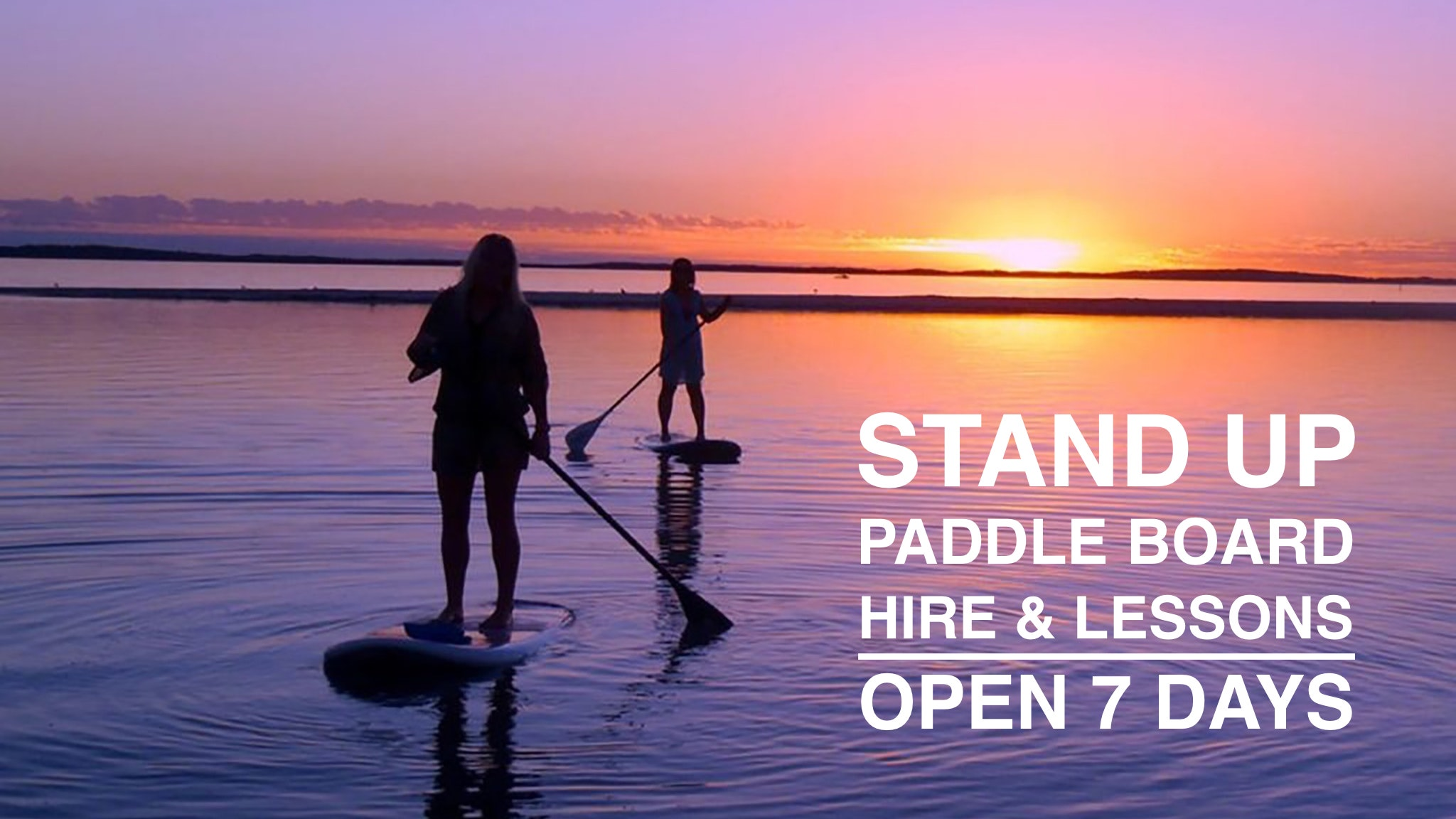 STAND UP PADDLE BOARDING ON ROCKINGHAM FORESHORE - BOARD HIRE HALF PRICE IN WINTER