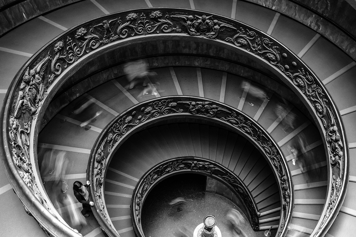 vatican stairs