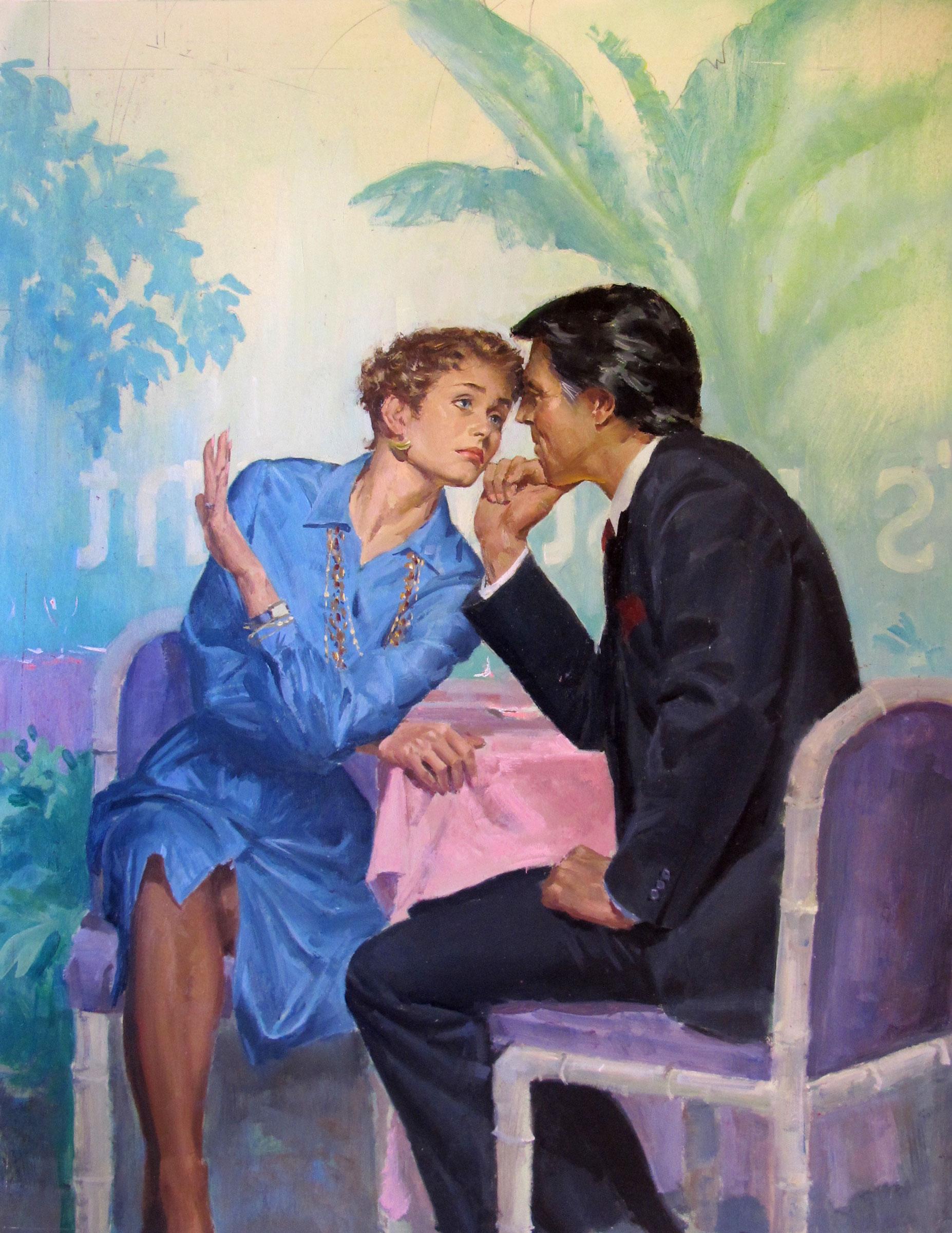 "Always a Bridesmaid, 1989 – 12""x15.5"" – oil"