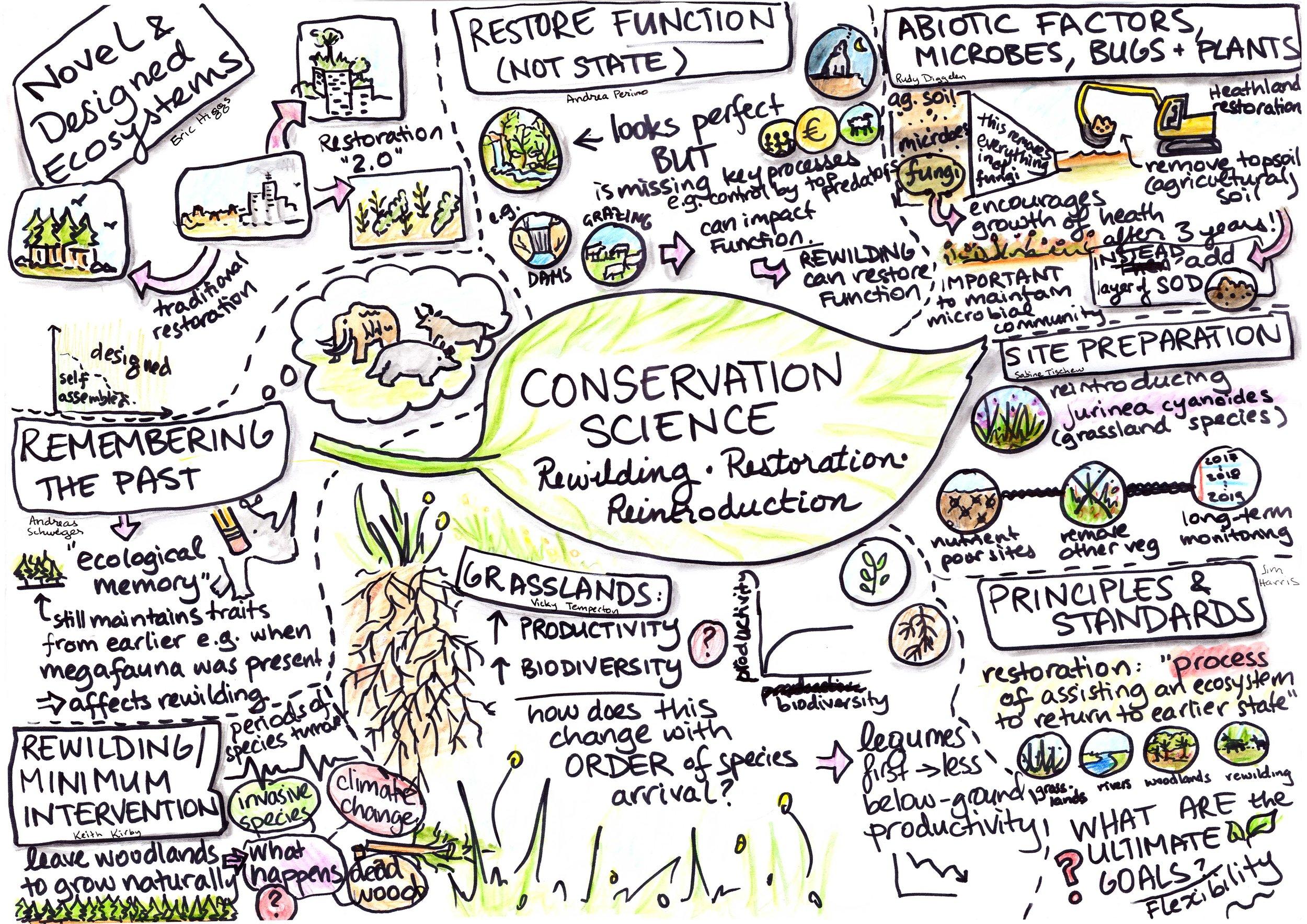 Conservation Science: Reintroductions, Restoration & Rewilding