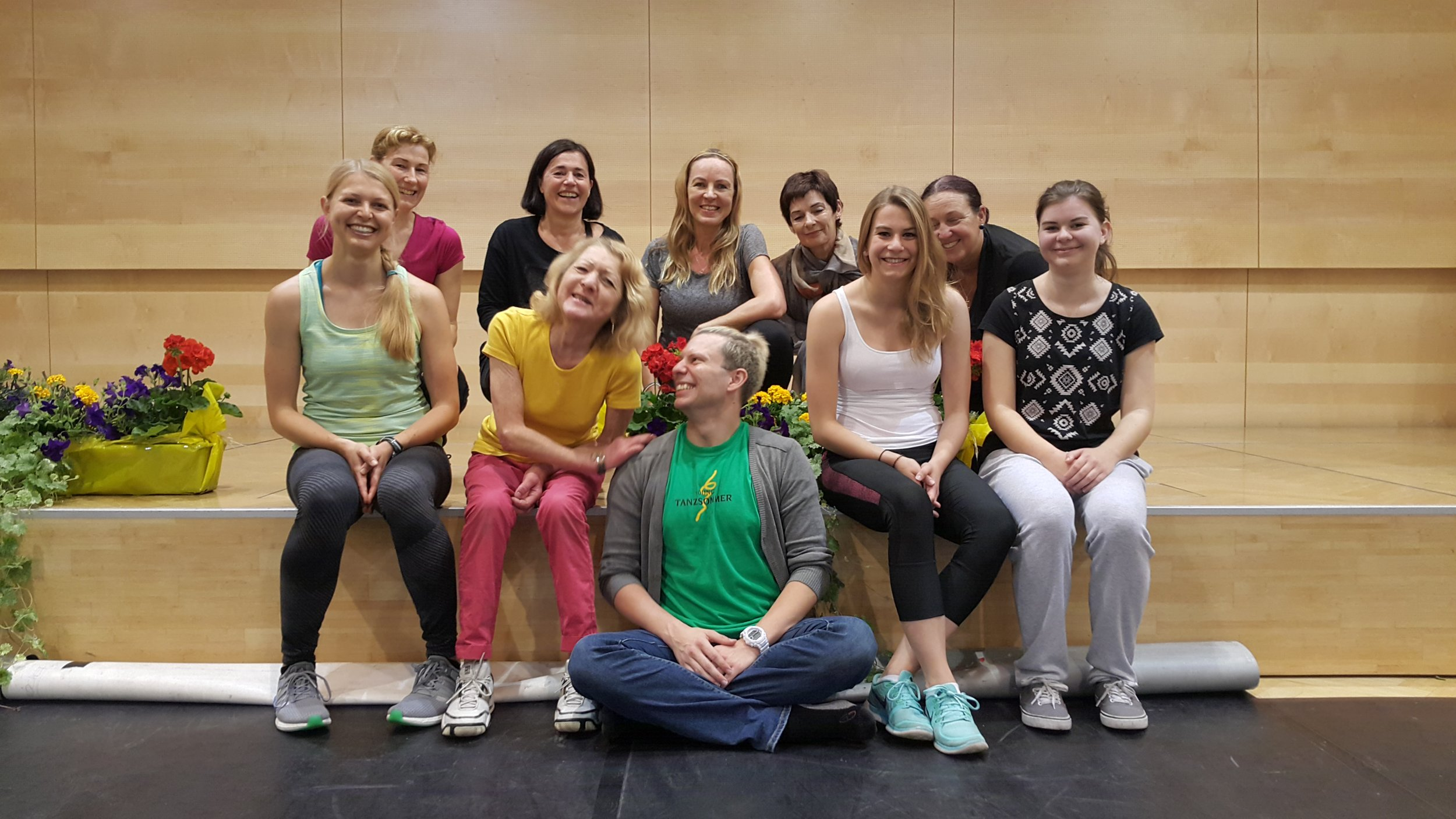 Workshop for local teachers by Y!T choreographer
