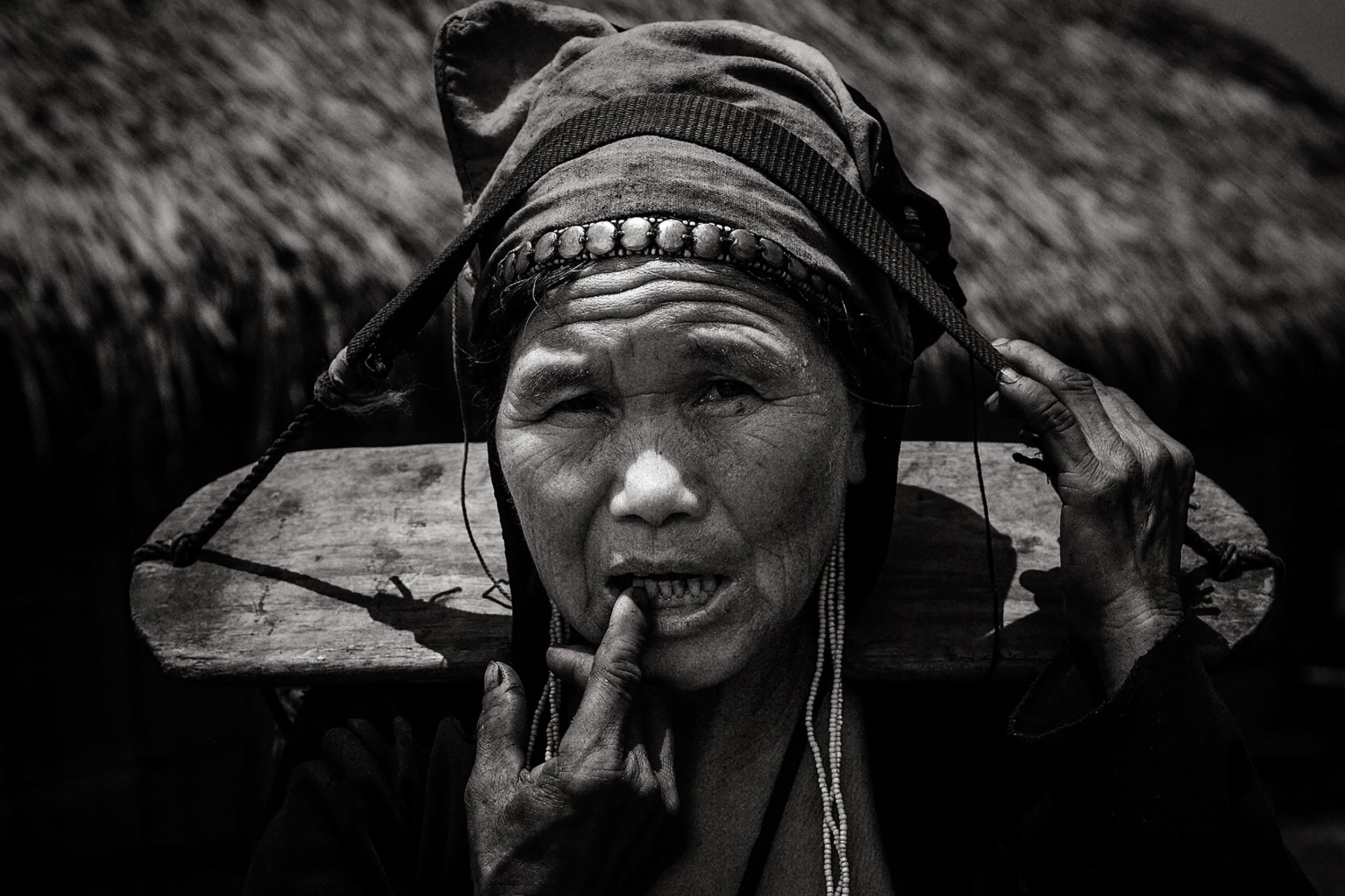 Ethnic Lao woman, Northern Laos.