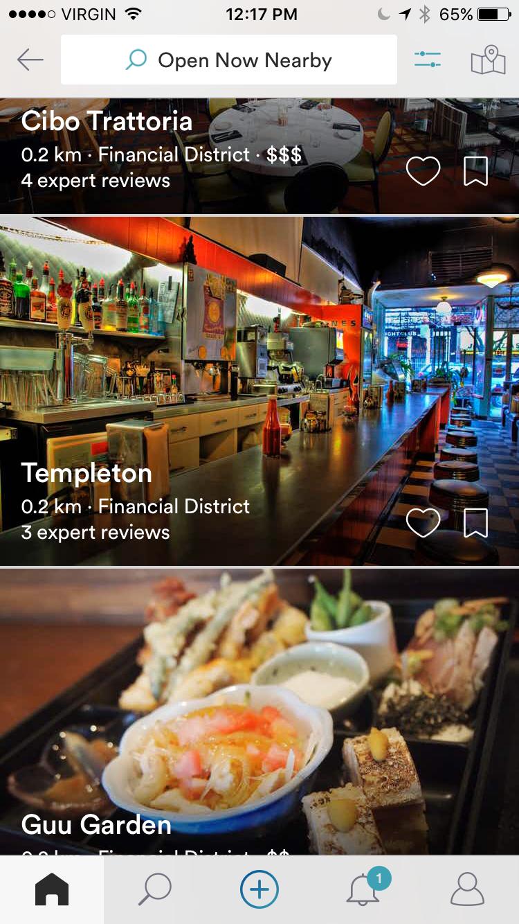 Spot App Restaurants Nearby