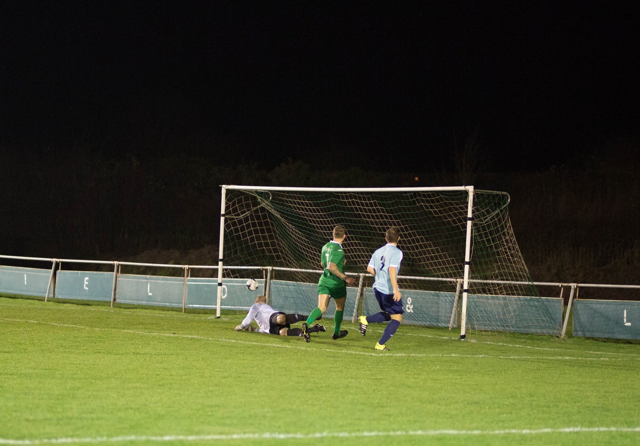 Second goal for Blackfield