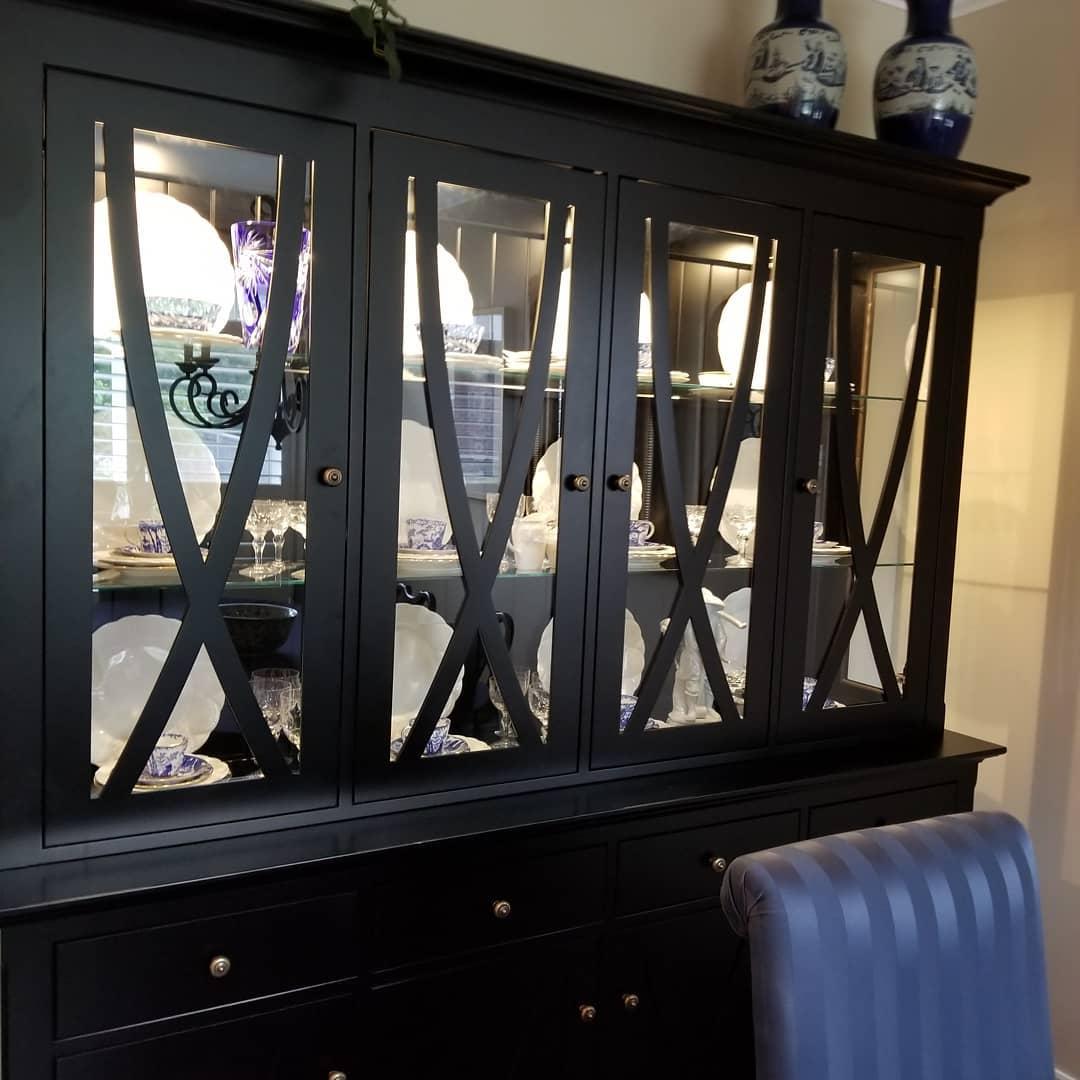 Custom, Ontario-made cabinet